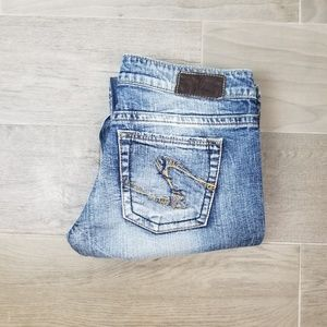 Silver Jeans Twisted Bootcut Sz 29